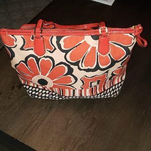 Coach Bags - Coach Poppy Daisy Shoulder Tote Bag